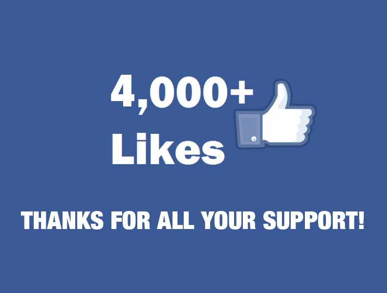 4000-likes-thanks-for-support